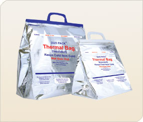 Hermal Bags With Flat Bottom